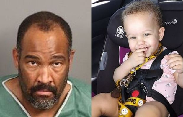 Adam Slater, (left) killed his one-year-old daughter, Madalyn Payton Slater [right] 1