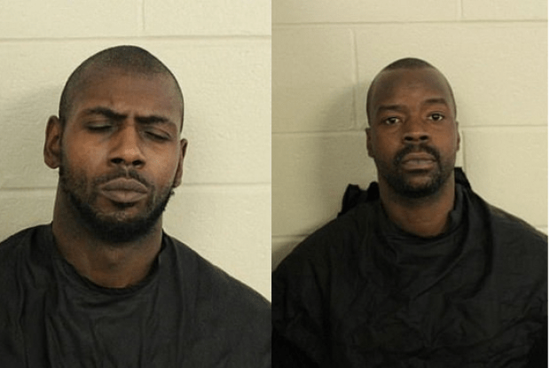 Desmond Brown, [left], and Devin Watts, [right] 1