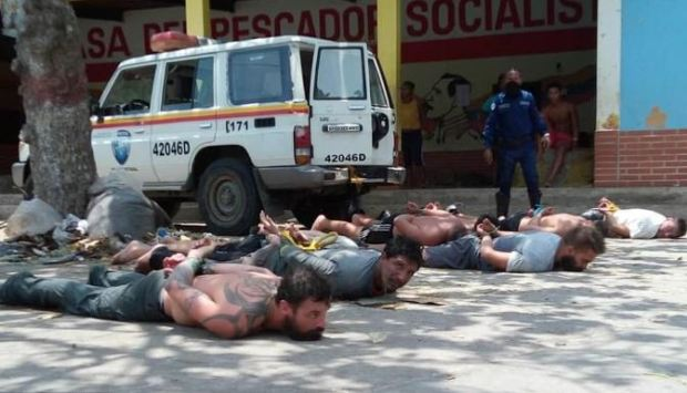 Eight suspected mercenaries arrested May, 2020 in Chuao, Venezuela 1