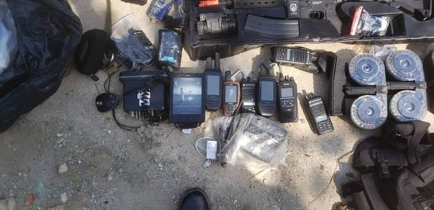 Equipment captured from mercenary group during the failed attack in Venezuela 2