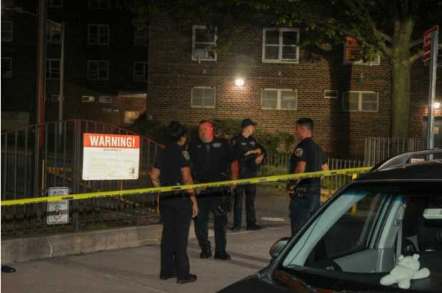 NYPD investigate the double homicide of Kevin Dillard and Arnelle Branchchildren 2