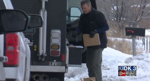 FBI agents raid Chad Daybell's Salem home during their initial raid in January 2