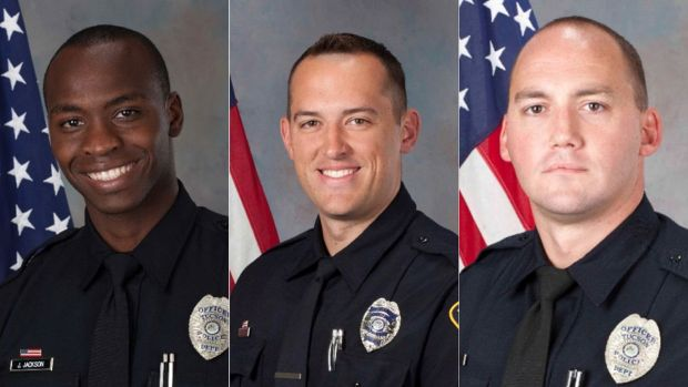 Jonathan Jackson, Samuel Routledge and Ryan Starbuck resigned from the Tucson Police Department after Carlos Adrian Ingram-Lopez died while in custody on April 21