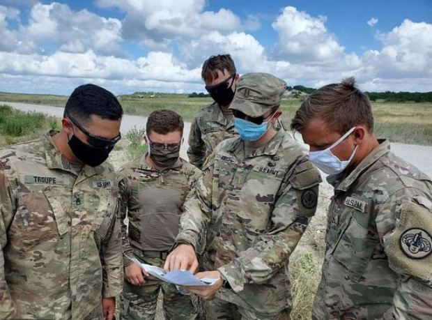 Members of Thunder Squadron, 3rd Cavalry Regiment, search for Vanessa Guillén1