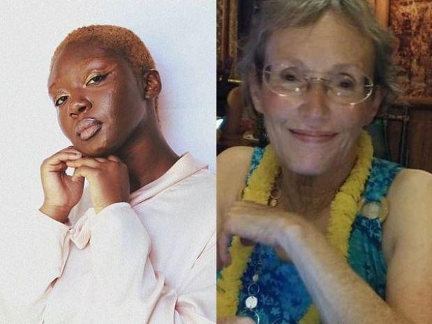 Oluwatoyin Salau [left] and Victoria Sims [right] 1