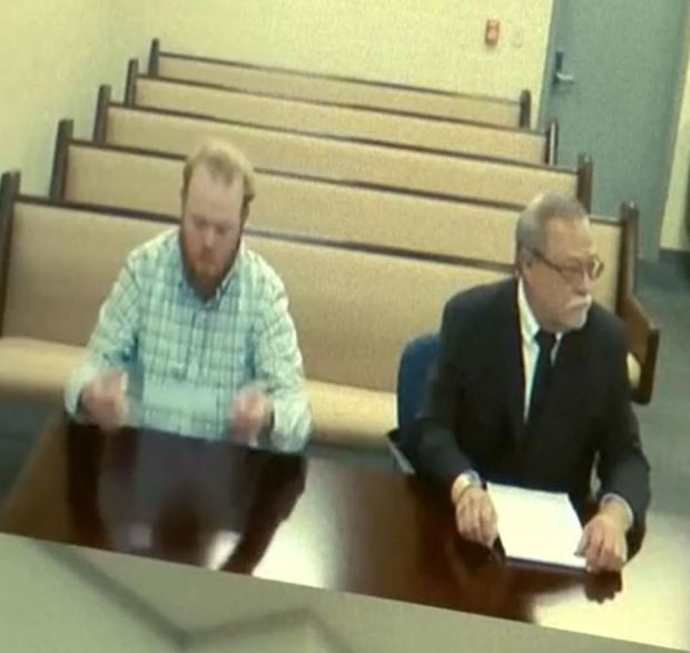 Travis McMichael and Gregory McMichael in court 5