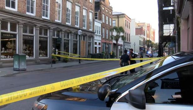 Downtown Charleston, South Carolina, where Tom DiLorenzo was killed 3