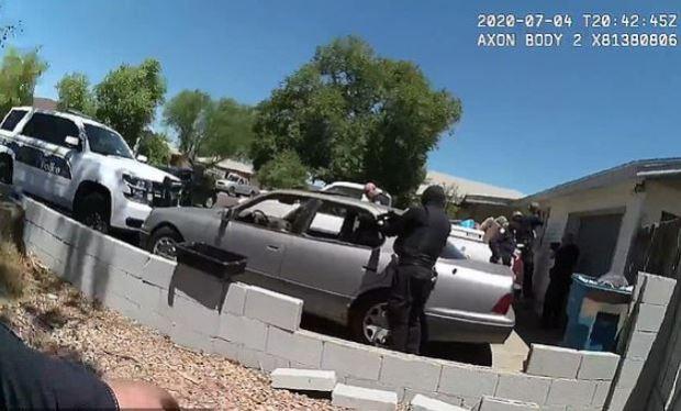 Phoenix Police officers gun down man in parked car 6