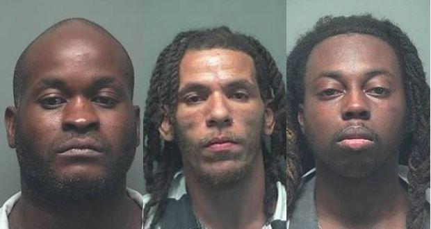 Shaun Johnson, [left], Joshua Tolbert, [center], and Jayvonn Phillips, [right] 1