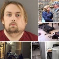 'Flush chunks down toilet not garbage disposal and blast heat to melt off fingerprints'- Joel Guy Jr, 31, accused of 'dismembering his parents and boiling his mother's head in a pot,' is exposed by hand written murder manual