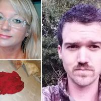 John Curtis Tolson is arrested for murder three months after he called 911 to report he'd found his girlfriend unconscious in a bathtub - LeeAnn Fletcher's family handed police video from her North Carolina home showing extensive blood splatter