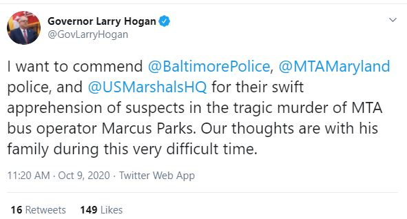 Male Female Suspects Arrested In Killing Of Baltimore Mta Bus Driver Marcus Parks Who Was Shot After He Refused To Let Gunman Board Then Gave Chase When Killer Snatched His Bag Marcus parks is on mixcloud. baltimore mta bus driver marcus parks
