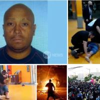 Violence erupts across Brazil after black man, 40, is beaten to death by white supermarket security guards on eve of country's Black Consciousness Day