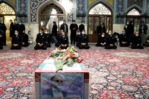 This image has an empty alt attribute; its file name is Mohsen-Fakhrizadeh-funeral-3.jpg