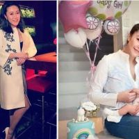 Socialite, 34,  'jumps to her death naked from her Hong Kong penthouse while holding five-month-old daughter' - Friends say single mom suffered depression after boyfriend refused to marry her