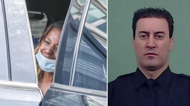 This image has an empty alt attribute; its file name is Jessica-Beauvaisleft-killed-officer-Anastasios-Tsakos-right-2.jpg