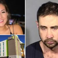 Law student, 31, from California is charged with beating his girlfriend to death in Las Vegas hotel room then calling police to say he woke to find her beaten, bloody and unconscious'