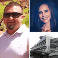Sicko husband says I killed her because she would not stop laughing at me'! Feds charge Utah man, Ken Manzanares, in cruise ship murder of 39-year-old realtor wife
