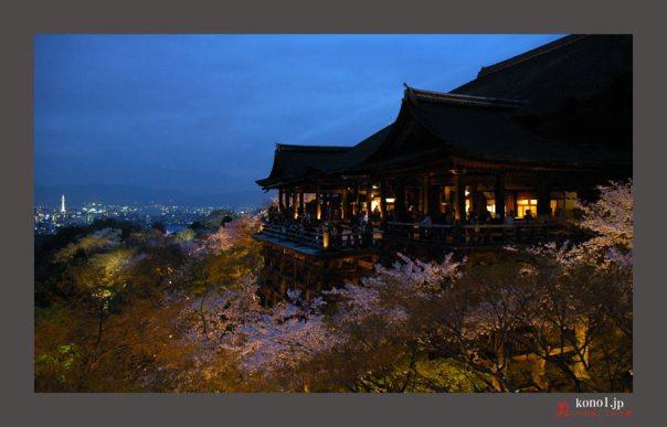 清水寺ライトアップ02