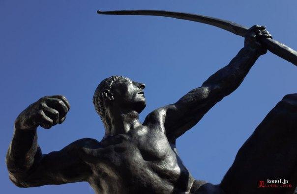 ブログ 国立西洋美術館 ロダン ブールデル 地獄の門 カレーの市民 弓を引くヘラクレス 考える人