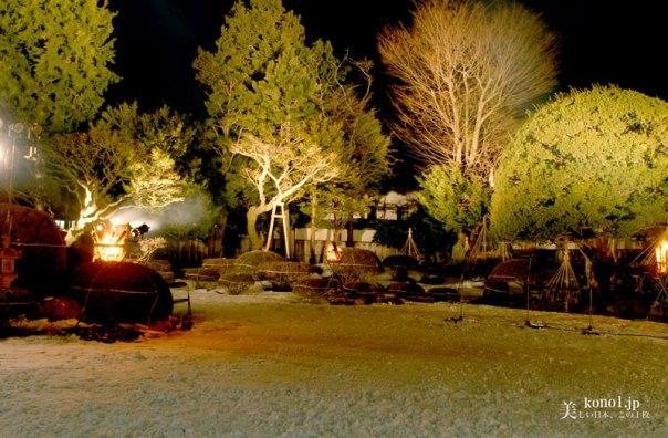 青森県 八戸 えんぶり 根城 2月 豊年祈願祭 雪 田植踊 摺る 更上閣 お庭えんぶり