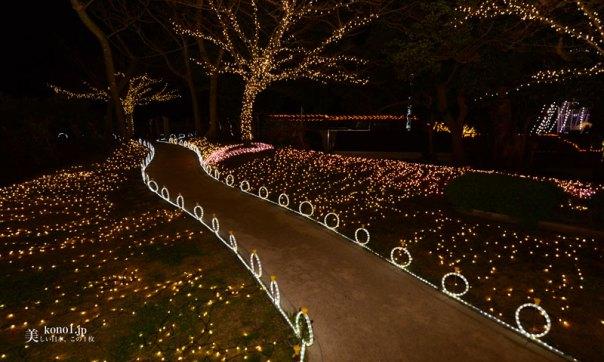 神奈川県 藤沢市 湘南の宝石 江ノ島 関東三大イルミネーション 夜景