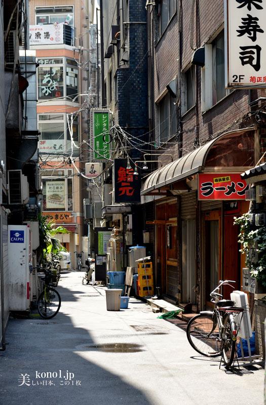 東京都港区 汐留シオサイト 旧市街地