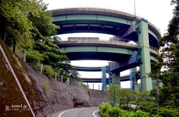 静岡県河津町 河津七滝ループ橋