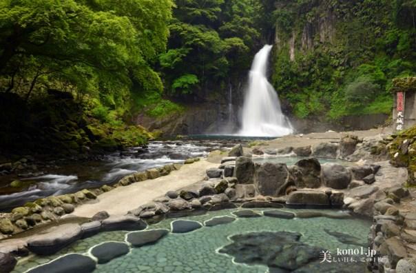 静岡県河津町 河津七滝 伊豆ジオパーク 大滝 おおだる 天城荘