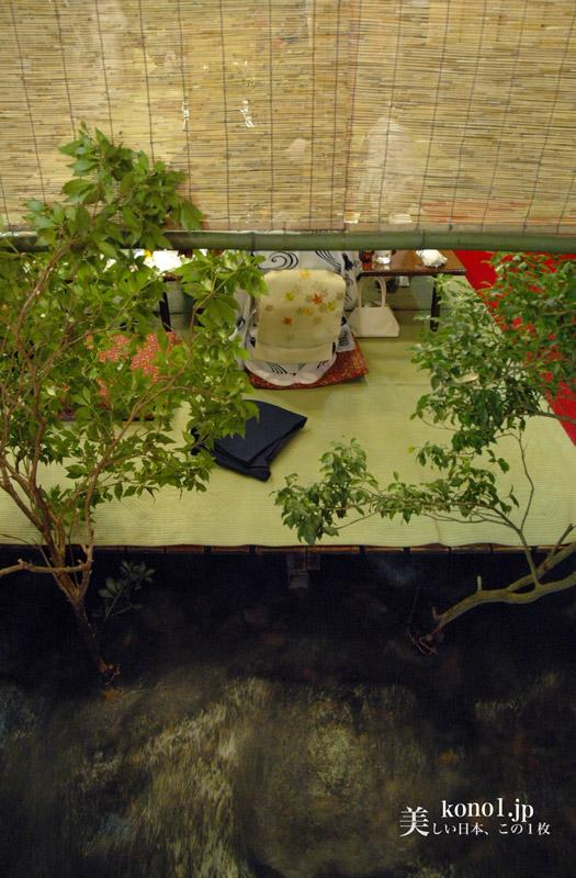 京都 鴨川川床(かわゆか)と貴船川床(かわどこ) 納涼床