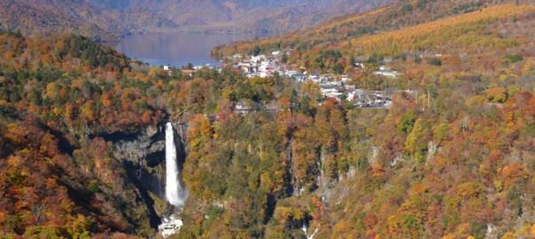 栃木県 日光 明智平 いろは坂 絶景 紅葉 ロープウェイ 華厳の滝 中禅寺湖