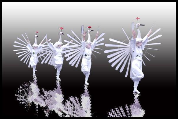 個展 Takataroのフォトアートの世界 鷺踊り