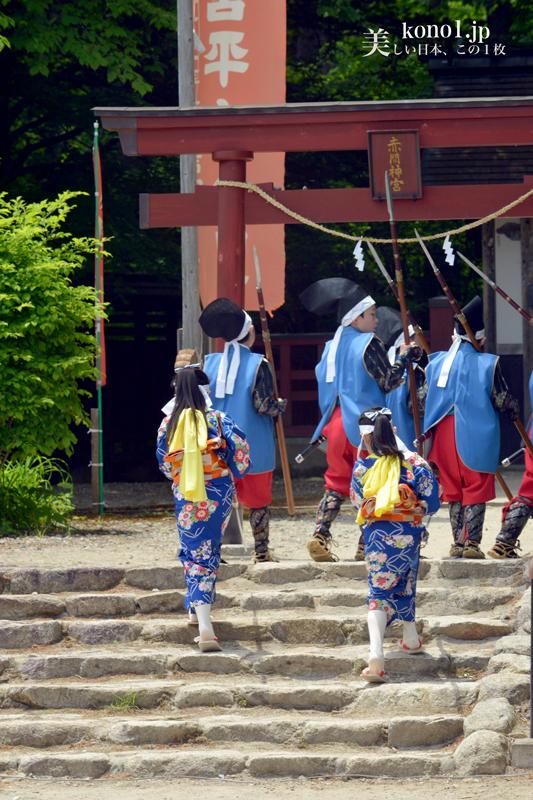 栃木県日光市 平家大祭 湯西川温泉 平家の里 2016