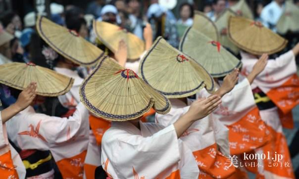 おわら風の盆 越中八尾 東新町支部の踊り