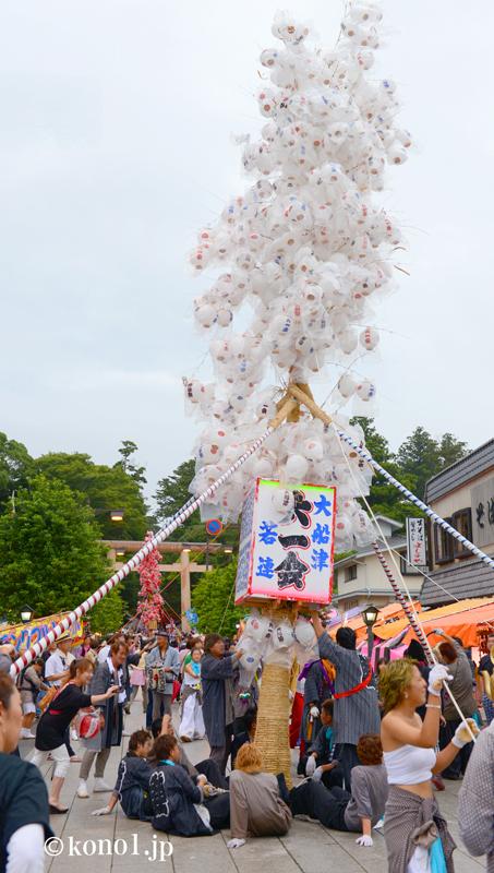 鹿島神宮 御船祭 12年毎 式年祭 神幸祭 提灯まち 山車 要石