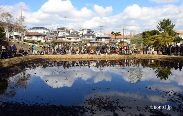 四街道市 和良比神社 はだか祭り どろんこ祭り