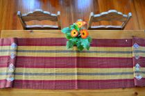 "10. $40.00 Measure: 15.5"" x 60"" (plus fringe) Hand washable. Amount available: 2 unit From San Gaspar Chajul, Quiché. Woven by Ixil-Maya women, of Asociación Chajulense."