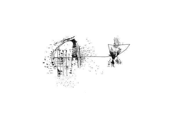 Konokopia: Fine Art Sculpture Drawing: Drawing: Sonnet Series