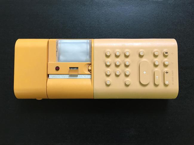 マリオ・ベリーニの電卓