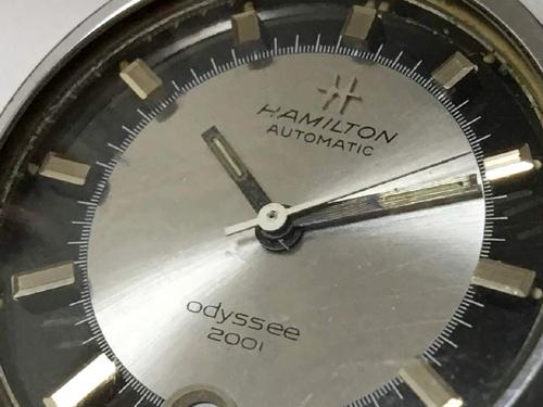 腕時計ハミルトンOdyssee2001