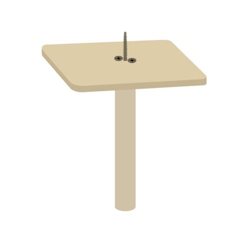 サイドテーブルの作り方