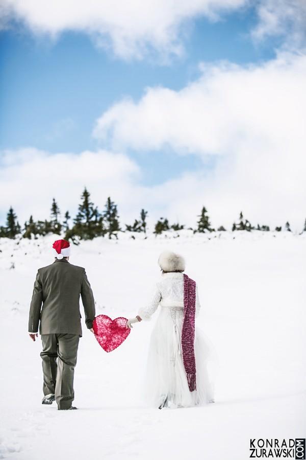 To właśnie jest miłość w górach | fotograf ślubny - Konrad Żurawski