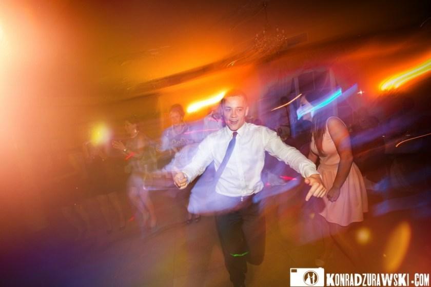Tańce, hulańce... na weselu Adrianny i Grzegorza - fotograf ślubny Jelenia Góra | Konrad Żurawski