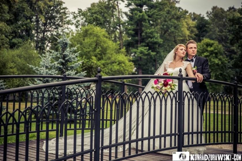 Jessi i Alex podczas ślubnej sesji zdjęciowej   Konrad Żurawski