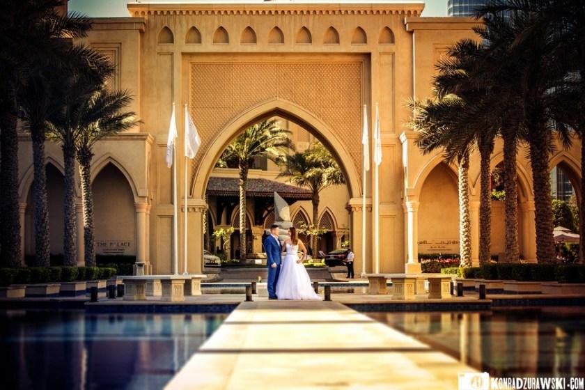 Urzekająca przepychem architektura w Dubaju   fotograf na ślub - Konrad Żurawski