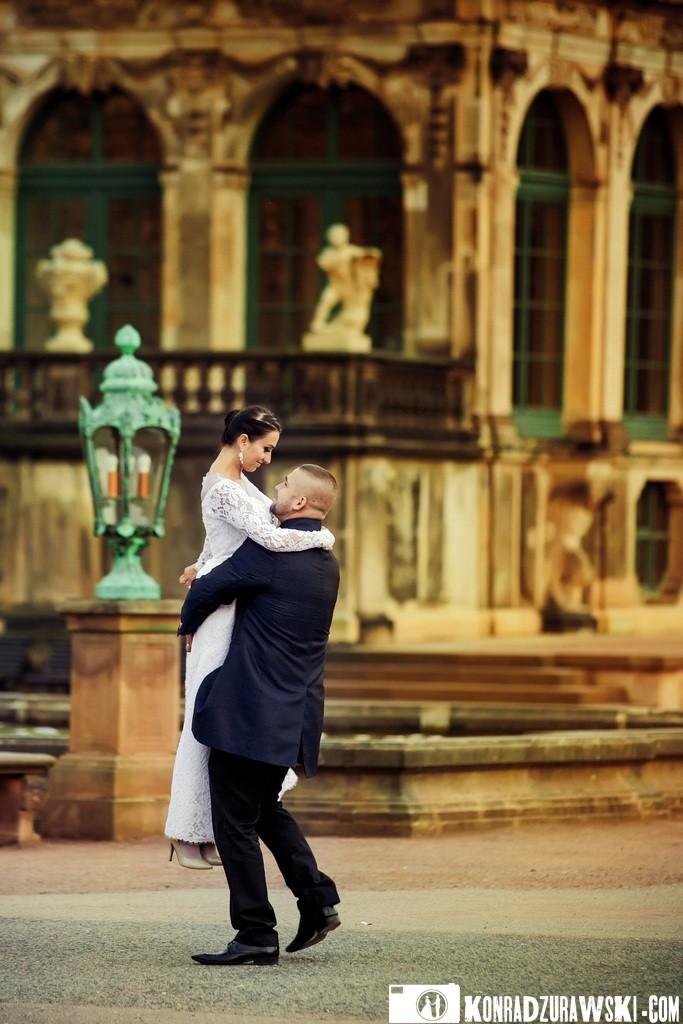 Szczęście i miłość w oczach. Fotografia ślubna - Konrad Żurawski