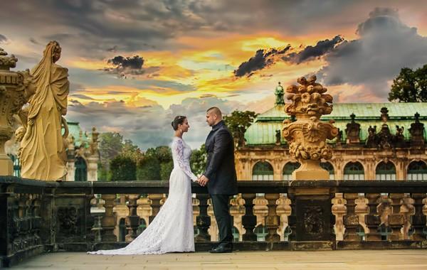 Sesja ślubna Drezno