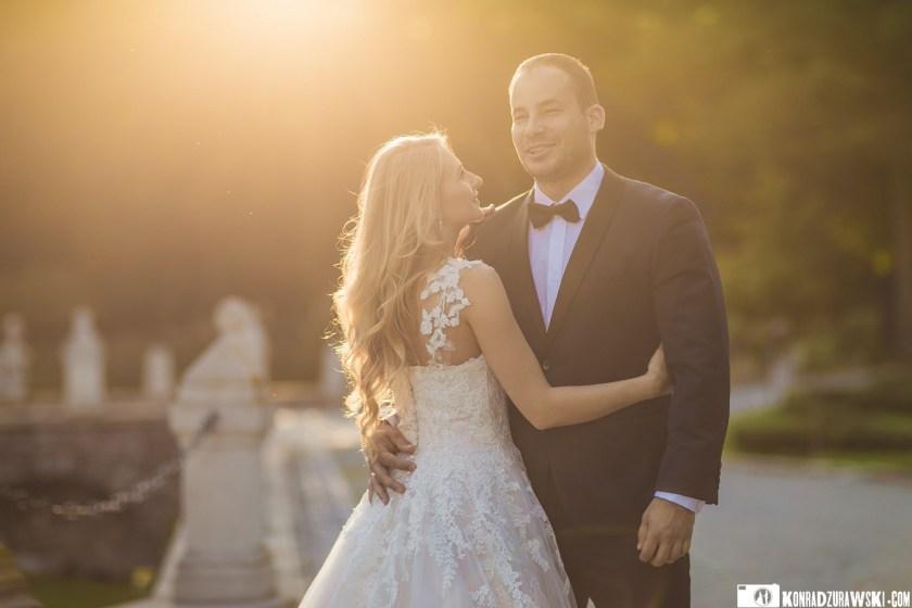Zdjęcia ślubne Magdy i Marcina w Pałacu w Ciechanowicach | Konrad Żurawski
