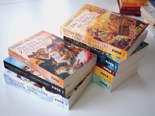 Terry Pratchett Scheibenwelt-Romane | Foto: konsensor.de