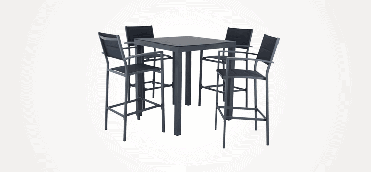 outdoor bar tables chairs stools